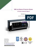 GE D60 Manual