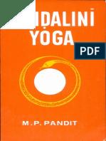 Kundalini Yoga M P Pandit