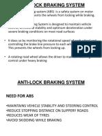 ABS, Traction Ctrl, ESC