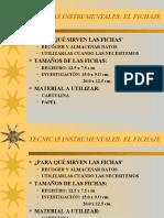 tecnicasinstrumentales-fichaje-090319144636-phpapp01