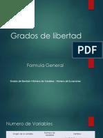 Grados de Libertad1