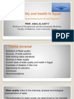 2) Water Quality and Health in Egypt - Dr. Amal