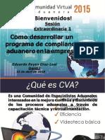 CVA Como Desarrollar Compliance Aduanero