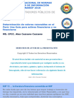PPT Valor Razonable - Alex Cuzcano