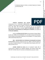 Petição Anulatória de Multa