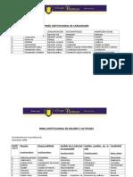 2009 Panel Institucional de Capacidades