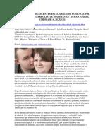 Obesidad en Adolescentes Escolarizados Como Factor de Riesgo en Desarrollo de Diabetes en Ciudad Juárez