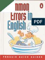 Common Errors in English )Penguin