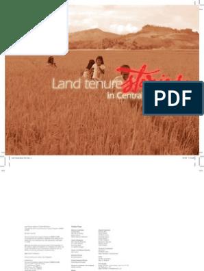 Land Tenure Stories in Central Mindanao | Politics
