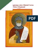 Canon de rugaciune catre Sfantul Moise Ethiopianul 28 august