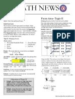 module 1 topic e- grade 5