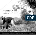 Re-envisioning Local Agricultural Development - A Guide for Development Managers