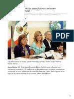 26-08-2018 - Sonora y Nuevo México consolidan acuerdos en educación y seguridad - Tribuna