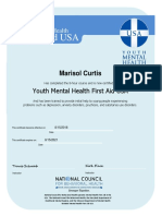 8hr mhfa youth certificate
