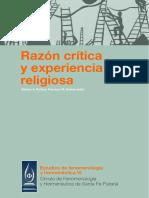 Razón Crítica y Experiencia Religiosa