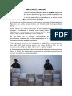 Narcotrafico en El Perú