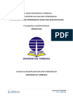 Download Soal Ujian UT PGPAUD PAUD4208 Penanganan Anak Berkelainan.pdf