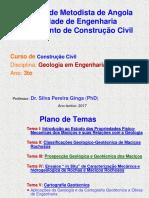 Apresentacao- Geologia Em Engenharia (Dr. Silva Ginga- PhD) TEMA III (Semin) - Copia