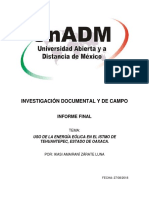 Informe Final de Proyecto UnADM