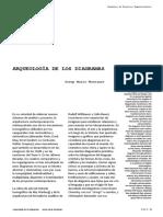 Arqueología de Los Diagramas Montaner