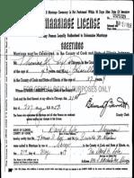 Thomas R. Cox Priscilla M. Kaplan Marriage License