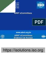 ABNT - Manual Do IsoSolutions - Apresentação