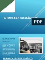 Aula 1 Substâncias e Misturas e Processos de Separação de Misturas
