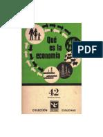 Valsecchi - Qué Es La Economía
