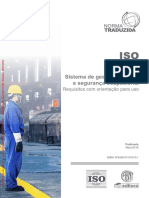 ISO 45001 2018 PT Sistemas Gestão Saúde Segurança Ocupacional