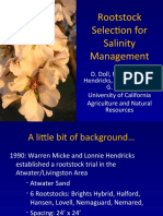 Almond Rootstock Selection for Salinity Management - Doll UCCE