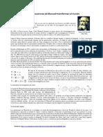 Las Ecuaciones de Maxwell Texto Para Comprender