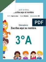 Agenda Escolar 2018-2019 (Preescolar)