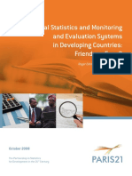 Official Statistics and Monitoring and Evaluation Systems in Developing Countries