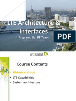 lte architecture interfaces