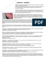 Ficha de Anamnese Em Auriculoterapia