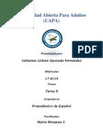 Tarea 2 Propedeutico de Español
