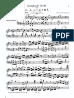 Mozart Hafner Symphony 35 Piano