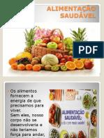 Slide Alimentação Saudável