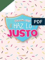 Haz Lo Justo Primaria 2017 Mini Kit ConexionSUD
