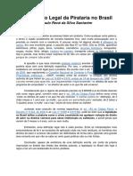 A Definição Legal Da Pirataria No Brasil