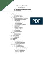 Manual PBX