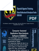 Data Collection and Analysis Tools Report