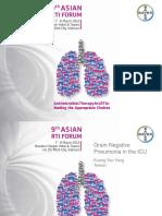 13. Yang - Gram Negative Pneumonia in the ICU