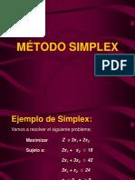Metodo Simplex Solo Holgura 1