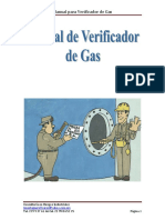 Manual de Verificador de Gas