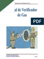 Manual de Verificador de Gas