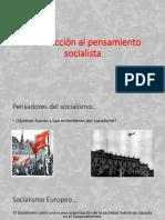 Introducción Al Pensamiento Socialista