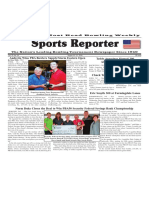 August 15 - 21, 2018  Sports Reporter