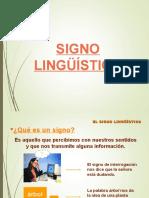 signo linguistico