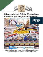Libros sobre el Folclor Venezolano